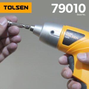 Tolsen Cordless Screwdriver 3.6 V – 79010 4