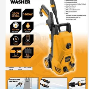 Tolsen Heavy Duty High Pressure Washer 100 Bar (1400 W) – 79570 1